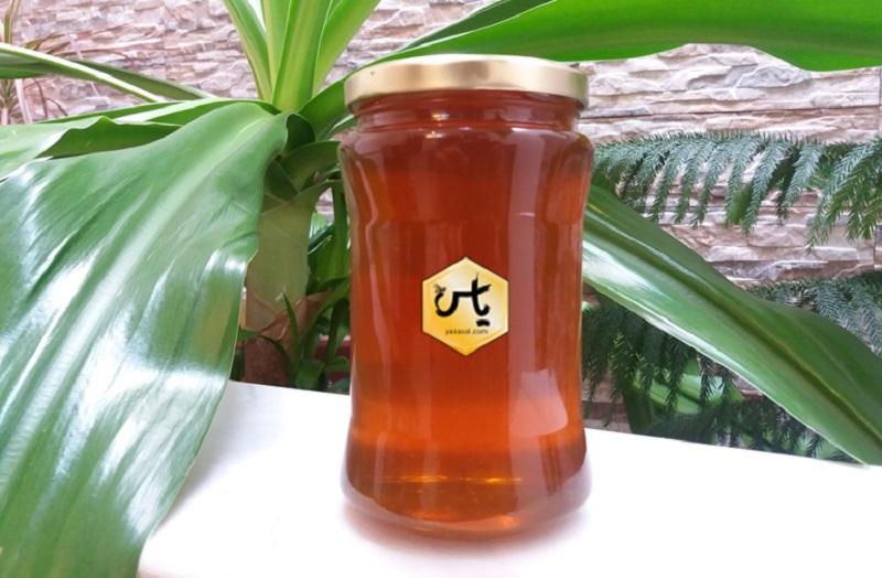 ظرف شیشه ای عسل
