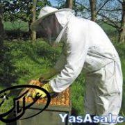 لباس زنبورداری کلاه دار